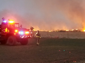 Image of a Past Fire in Reno County